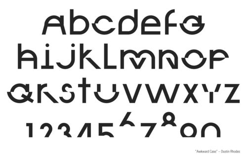 student typeface
